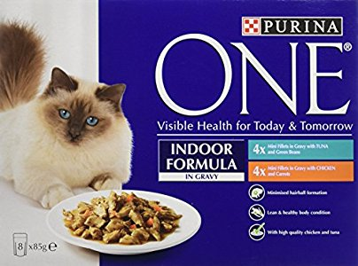 Purina One Indoor Formula I Now Have One Very Happy Cat